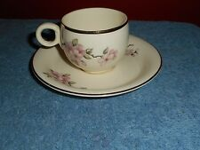 HOMER LAUGHLIN Georgian Eggshell TEA CUP & SAUCER PATTERN D 48 N 5 1950's China