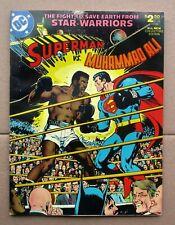 DC SUPERMAN VS MUHAMMAD ALI 1978 Treasury Edition Neal Adams  UNREAD Nice