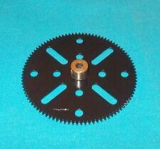 MECCANO roue 95 dents, No 27c noire brillante (repeintes)