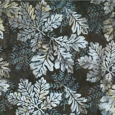 Hoffman ½ yd Batiks Bali  J2371-A64 Oak Leaves Antique Tan