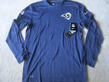 BNWT Nike L.A. Rams ON FIELD APPAREL Long Sleeve Size L