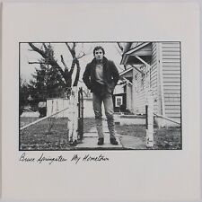 """BRUCE SPRINGSTEEN: My Hometown / Santa Claus Is Comin' 7"""" 45 NM PS Christmas"""