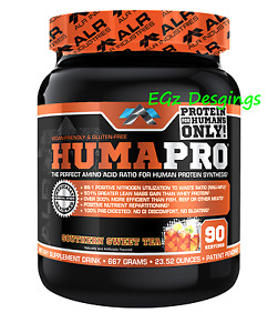 * HUMAPRO by ALR INDUSTRIES * AMINO ACID PROTEIN POWDER 667G - 90 SERVINGS
