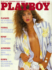 Playboy Juli/07/1988   TERESA JOHNSON & NICOLE FENDESACK*