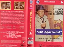 THE APARTMENT - Jack Lemmon  VHS - PAL - NEW -Never played! -Original Oz release