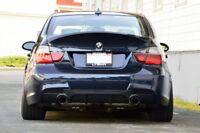 For BMW 3 Series E90 E91 Rear Bumper Valance Performance Style Diffuser