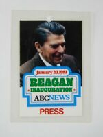 Economy Quote #12 with Wood from Inauguration Stage 1981 Ronald Reagan
