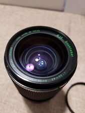 Quantaray 28-80mm F3.5-4.5 Lens for Nikon mount Multi-Coated