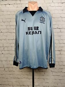 Football shirt soccer FC Everton Toffees Third 2003/2004 Puma Jersey Gray 2XL
