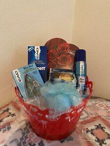 Gift Basket Set Men's Husband Fiance Boyfriend Son Brother Valentines Day