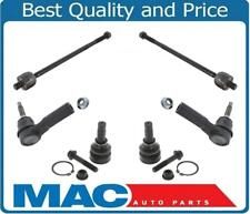 2005-2009 Ford Mustang Lower Ball Joint Joints Inner and Outer Tie Rod Ends Kit
