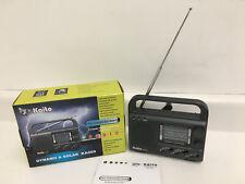 Kaito KA009 10-Band World Receiver AM/FM/Shortwave Radio -Solar power /Emergency