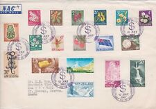 New Zealand-1967 Decimal definitive stamps First Day Cover