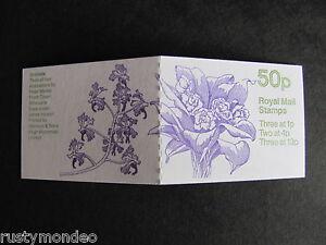 FB29, 50p, Orchids series Booklet, Design No 3 - Bifrenaria Orchid , MNH