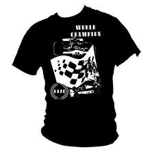 JAMES HUNT Formula 1 legend 1976 World Champion inspired Mens racing t-shirt