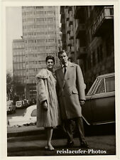 Fernando Lamas & beautiful Lady in Milan, Orig.Photo, 1963