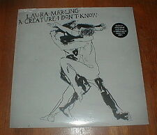 "LAURA MARLING 2011 ""Creature I Don't Know"" LP WHITE VINYL w POSTER SEALED"