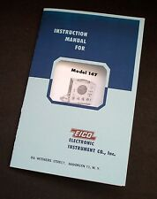 EICO Model 147 Deluxe Signal Tracer Instruction Manual