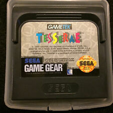 Tesserae (Sega Game Gear) w/ Plastic Storage Case: TESTED!!!