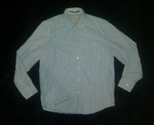 Tommy Bahama Jeans Island Crafted Long Sleeve Button Up Striped Shirt Men's (M)