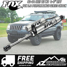 "Fox 2.0 Performance Series Front Reservoir Shock For 93-04 Jeep ZJ WJ  4-6"" Lift"