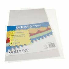 Clairefontaine Goldline Tracing Paper Pack, A4, 25 Sheets