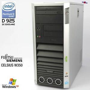 FSC Fujitsu Siemens Celsius W350 Computer WORKSTATIOND2317 PC RS-232 3GB 250GB