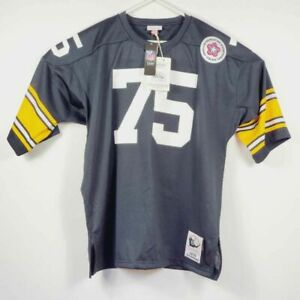 Pittsburgh Steelers Greene Mitchell & Ness Throwback Mens Jersey Green 2XL New