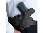 DeSantis Mill Thumbbreak Mini Slide Holster 085SCK9Z0 Black RH KAHR: 9mm, MKII
