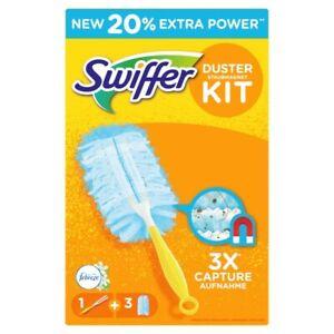Swiffer Staubmagnet Starterset (Griff + 3 Tücher) mit Febrezeduft !