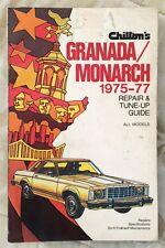 Chilton's (Ford) Grenada/Monarch 1975-77 Repair & Tune-Up Guide Automotive Book