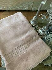 Pottery Barn Turkish Cotton Blush Pink Bath Towel 28x55 PB Essentials collection
