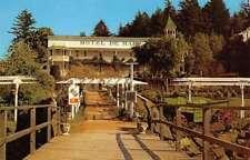 Roche Harbor Washington Hotel De Haro Street View Vintage Postcard K70642