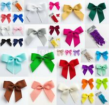 5cm Ribbon Bows Self Adhesive Stick On Grosgrain For Wedding Card Making Craft