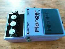 Boss BF-2 Flanger Vintage Guitar Effects Pedal Made In Taiwan ACA