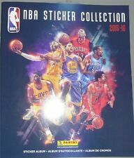 NBA STICKER COLLECTION 2015-16 Completed 483 Non stuck Stickers + Album Kobe