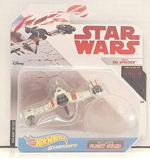 Hot Wheels POE'S SKI SPEEDER Star Wars Starships Die Cast NEW Last Jedi Gift Toy