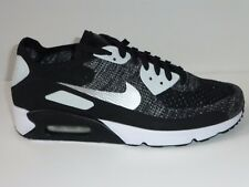AUTHENTIC NIKE AIR MAX 90 ULTRA FKiD BLACK/GREY TRAINERS NEW SIZE 45 UK 10