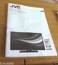 JVC LT-50C740 LCD UFFICIALE istruzioni operative manuale di istruzioni guida utente