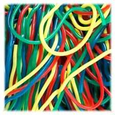 Shoestring Rainbow Licorice Laces 2 pounds Gustaf's