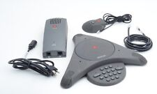 Polycom SoundStation EX 2201-03309-001 Conference Phone w/Mic and Power Supply