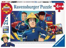 Ravensburger 90426  Puzzle Feuerwehrmann Sam hilft dir in der Not 2 x 24 Teile