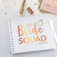 Personalised Bride Tribe or Bride Squad or Team Bride | Hen Party Photo Album