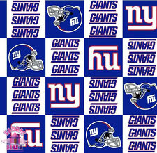 New York Giants NFL Fleece Fabric 6331 D