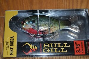 "Catch Co. ""Triton"" Mike Bucca Baby Bull Gill 3.75"" Swimbait (Ruby Gill) NIB"