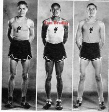 1930's Los Angeles high school yearbook~Photos~Football~Mayor Tom Bradley~++++