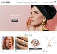 Jewelry Turnkey Dropshipping, Multi vendor Affiliate website - Free Installation