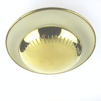 Mid Century Modern Lampe,Sarfatti Era,Wall Lamp Flush Mounts by Hillebrand 1950s