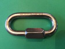 """Stainless Steel 316 Quick Link 3/8"""" (10mm) Marine Grade for Boating or Rigging"""