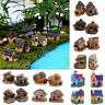 Miniature House Fairy Garden Micro Landscape Home Dollhouse Decoration Resin